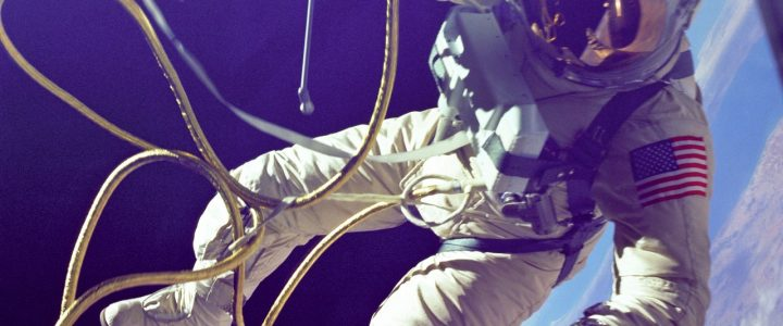 Air compressors used in space travel