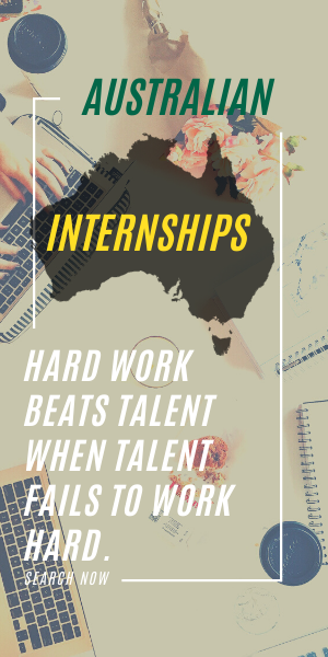start your internship search in Australia
